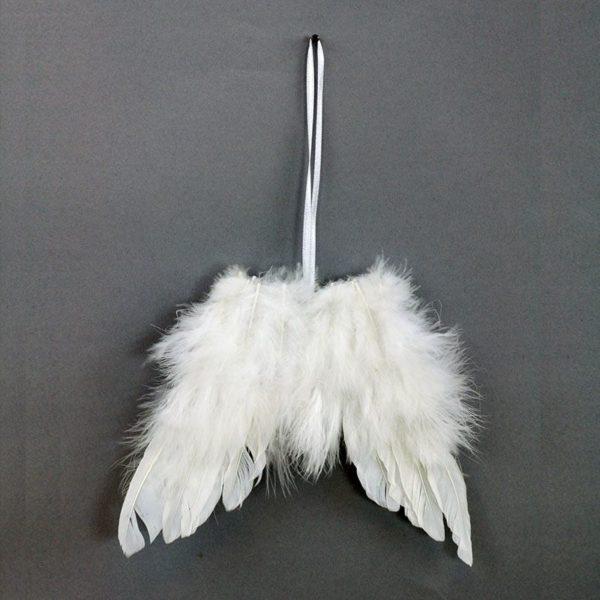 Dekorace Andělské křídla z peří  b5759a516b